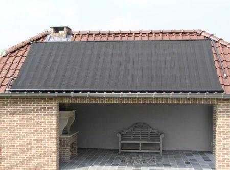 zonnecollectoren dak klant